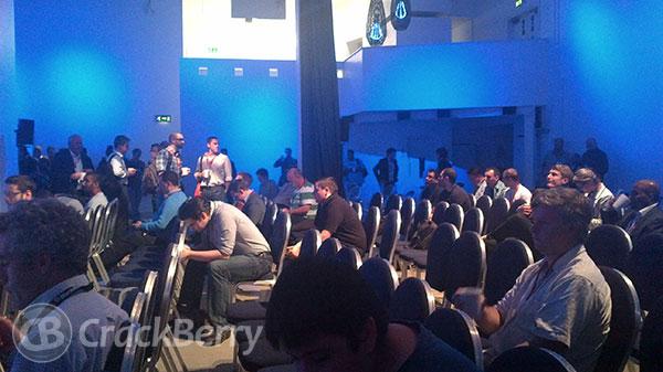 BlackBerry 10 Jam London - Web Track Session short break