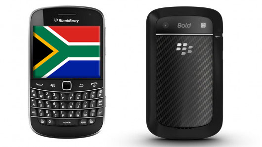 BlackBerry Bold 9900 on Vodacom