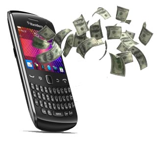 BlackBerry money