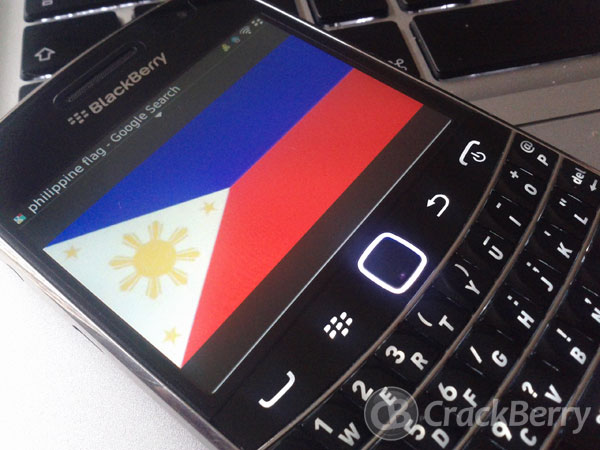 BlackBerry 7.1 made available in the Philippines