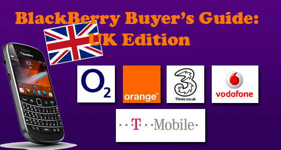 BlackBerry Buyer's Guide UK Networks