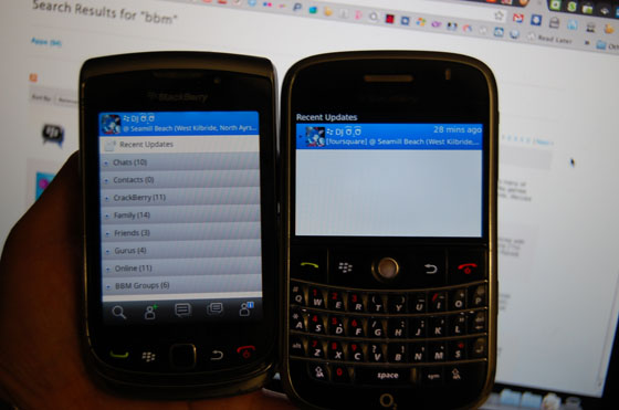 BBM integrated apps