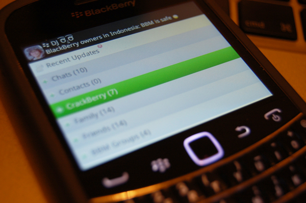 BlackBerry Messenger safe in Indonesia