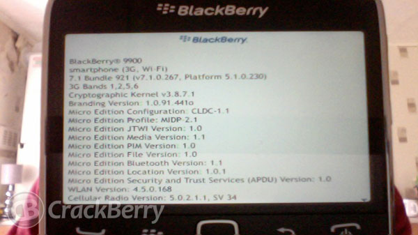 BlackBerry 7.1 now available for UK BlackBerry users