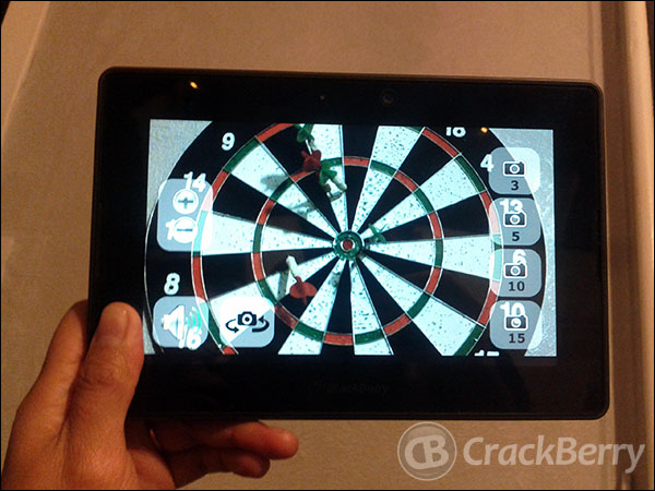 Looking for new apps? How about three camera apps for your BlackBerry PlayBook?