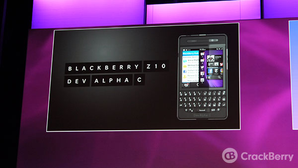 Dev Alpha C announced at BlackBerry Jam Europe