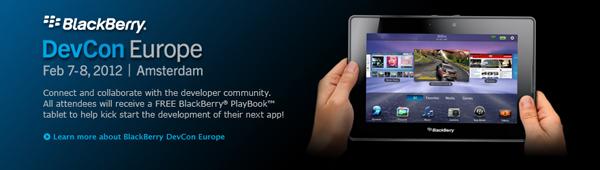 BlackBerry DevCon Europe 2012