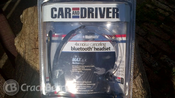 Car and Driver Max 4x Bluetooth Headset