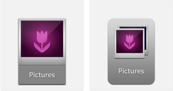 BlackBerry 10 icons have been updated - smaller size and new look
