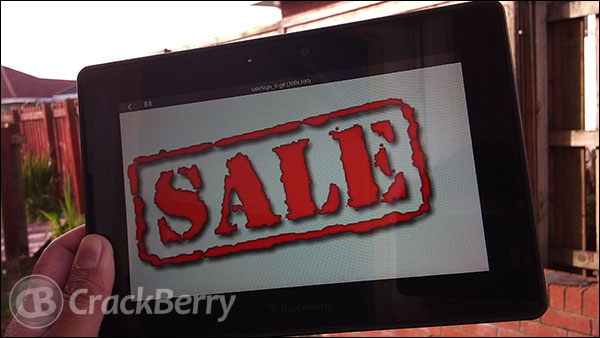 PC World discounts BlackBerry PlayBook again in the UK