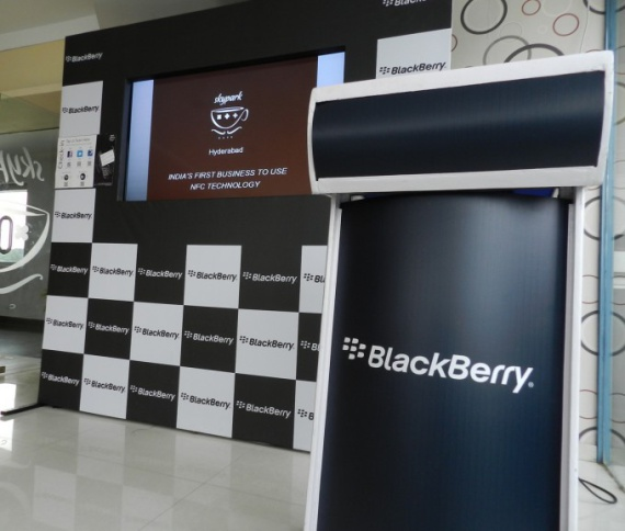 Introducing the SkyPark Café - The first BlackBerry equipped Cafe