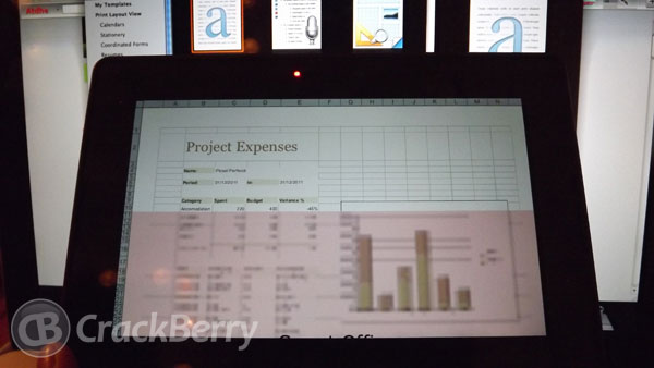 Smart Office for the BlackBerry PlayBook