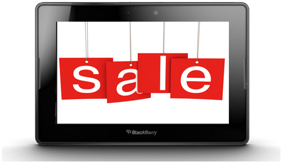 UK BlackBerry PlayBook sale