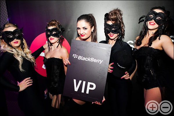BlackBerry VIP Party