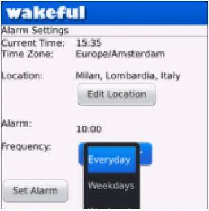 Wakeful Alarm