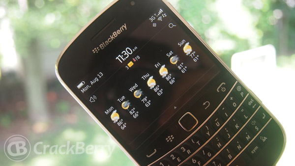 My BlackBerry Bold 9930