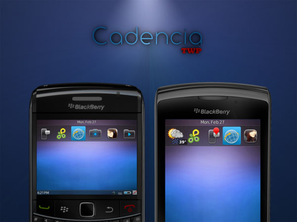 Cadencia BlackBerry Theme