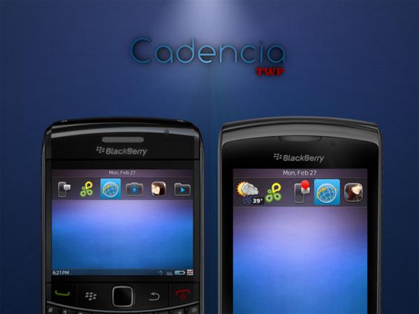 Cadencia BlackBerry Theme