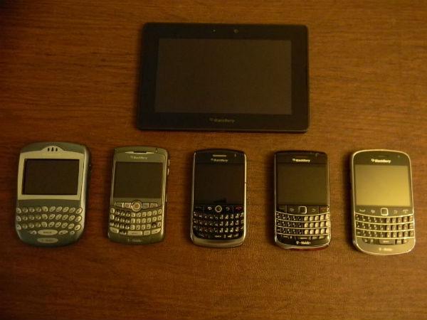 Old BlackBerry's