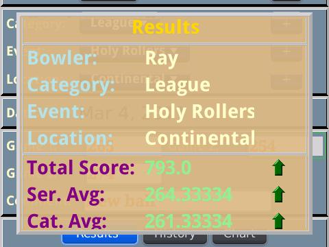 Bowling Stats