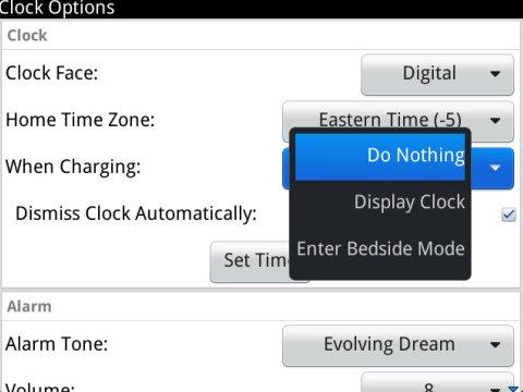 Clock Settings