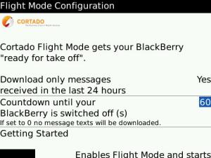 Cortado Flight Mode