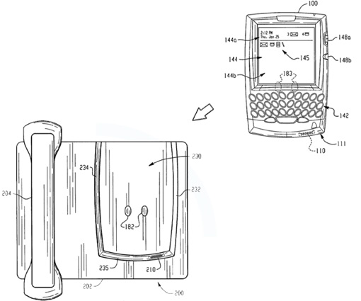 Desk Dock Patent